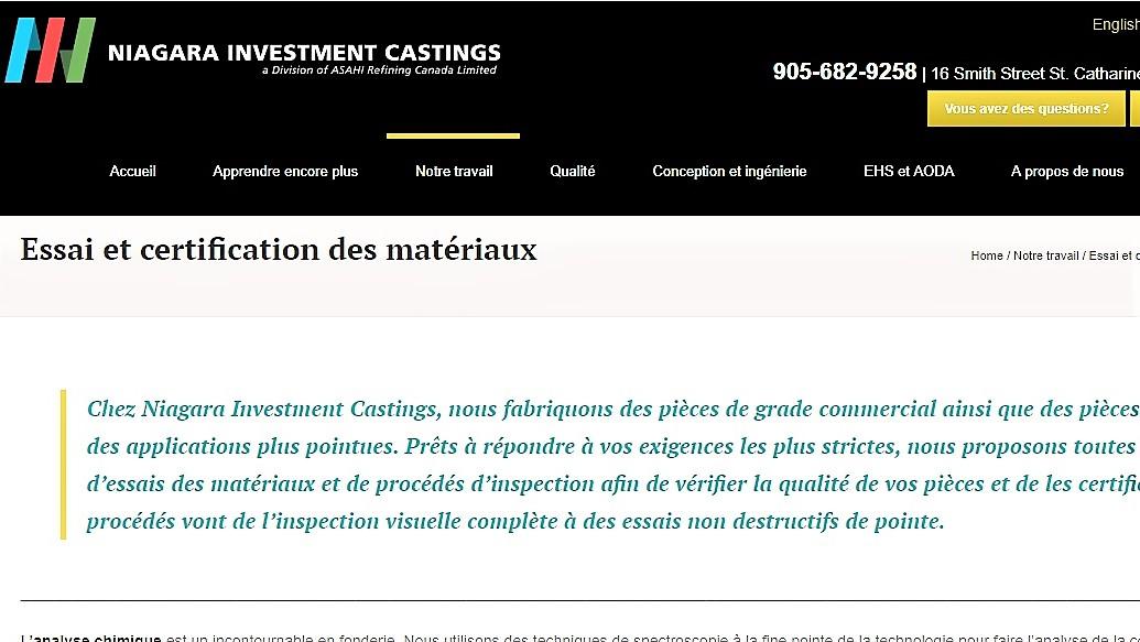 https://niagarainvestmentcastings.com/fr/notre-travail/essai-et-certification-des-materiaux/